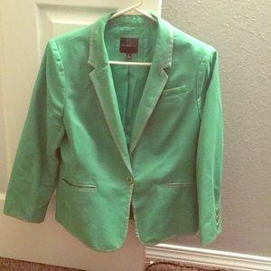 Express Green blazer